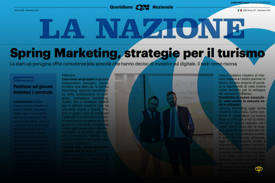Spring Marketing, strategie per il turismo
